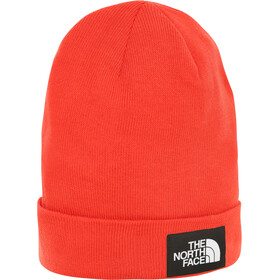 The North Face Worker Recycled Beanie Fiery Red/TNF Black